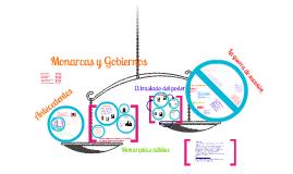 Copy of Monarcas y Gobiernos