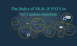 The Roles of SKAL & PATA in Sri Lankan tourism