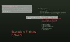 Educations Training Network