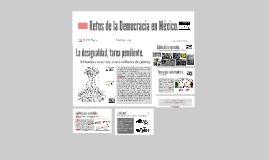Copy of Copy of Retos de la Democracia en México.