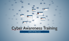 Cyber Awarness Training