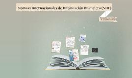 Copy of - Normas Internacionales de Información financiera (NIIF)