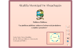Alcaldía Municipal De Ahuachapán