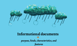 Informational documents