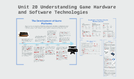Unit 20 understanding game hardware and software technologie