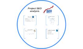 Project SEO analisys