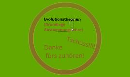 Evolutionstheorien