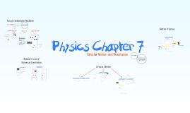 Physics Chapter 7