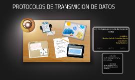 LOS PROTOCOLOS DE COMUNICACION DE DATOS