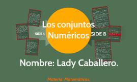Los conjuntos Numericos