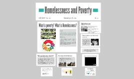 Homelessness and Poverty
