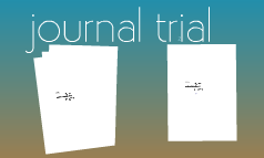 journal trial