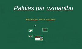 Mikroviļņu radio sistēmas