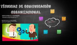 TECNICAS DE COMUNICACION ORGANIZACIONAL