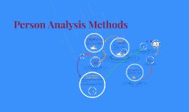 Copy of Person Analysis Methods