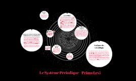 Copy of Système Périodique-Primo Levi