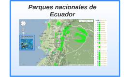 Parques nacionales de Ecuador