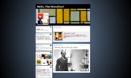 Hello, Piet Mondrian!