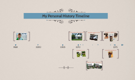 My Personal History Timeline