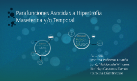 Parafunciones Asocidas a Hipertrofia Maseterina y/o Temporal