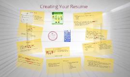 Resume Writing - Kinesiology