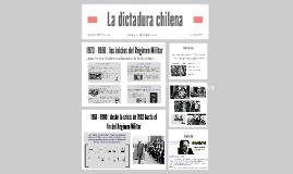 Copy of La dictadura chilena