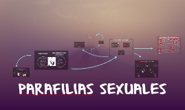 Copy of PARAFILIAS SEXUALES