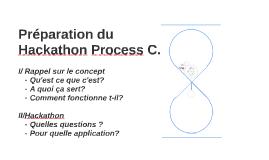 Préparation du Hackathon