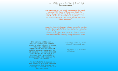 Technology and Learning Environments