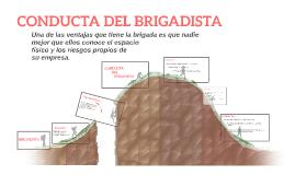 CONDUCTA DEL BRIGADISTA
