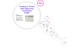 Copy of Coming to Terms with Opposing Viewpoints