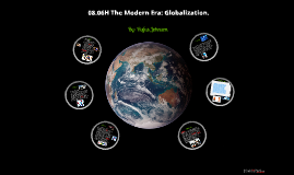 Copy of World History 8.06H The Modern Era: Globalization