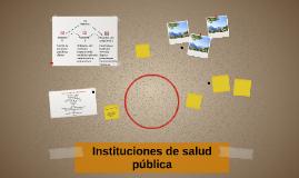 Instituciones de salud pública
