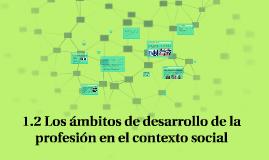 1.2 Los ámbitos de desarrollo de la  profesión en el context