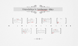 Friendships in Northanger Abbey