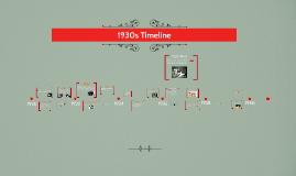 1930s Timeline