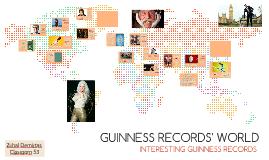 GUINNESS RECORDS' WORLD