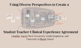Student Teacher/Clinical Experience Agreement