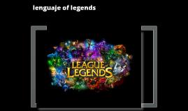 lenguaje of legends