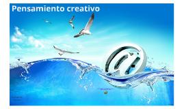 Pensamiento Creativo - Publicidad III