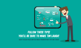 How to make your audience laugh