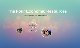 Economic Resources & Systems