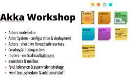 Akka Workshop