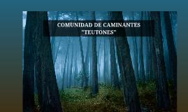COMUNIDAD DE CAMINANTES TEUTONES