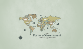 8D1 Forms of Government
