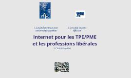 INTERNET POUR LES TPE/PME