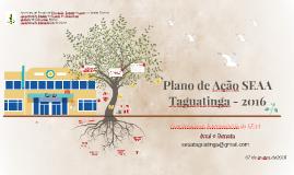 Plano de Ação SEAA Taguatinga - 2016