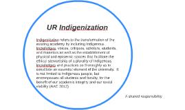 UR Indigenization