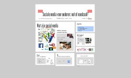 Sociale media voor ouderen: nut of noodzaak?