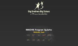 BBBS Program Updates